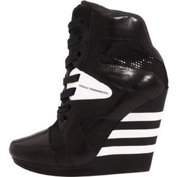 9e7b5906a94e5 Y-3 Adidas Yohji Yamamoto sneaker wedge